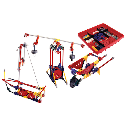 KNEX Gears, Levers and Pulleys Set  large