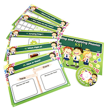 Using and Applying Phonics Activity Cards  medium