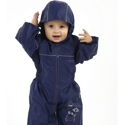 Waterproof Puddlesuits 18\-24 months Blue  large