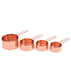Rose Gold Measuring Cups 4pk  small