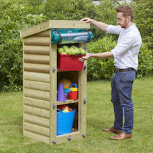 Outdoor Wooden Storage Units  medium