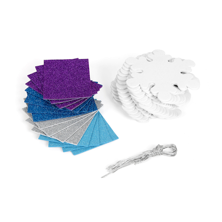Snowflake Ornaments Decorations 24pk  large