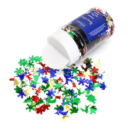 Christmas Festive Sequins 100g  large