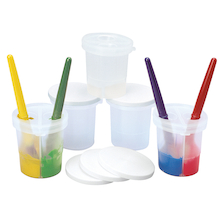 Paint Cups 5pk  medium