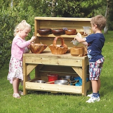 Outdoor Wooden Creative Concoctions Dresser  medium
