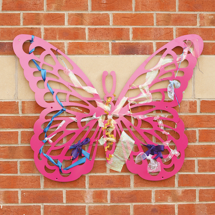 Wonderful Weaving Frames Butterfly  large