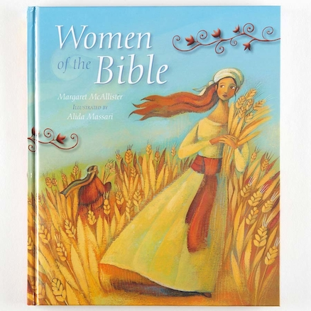 Women of the Bible Book  large
