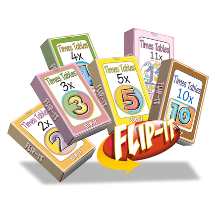 Flip\-It Times Tables Set 1  large