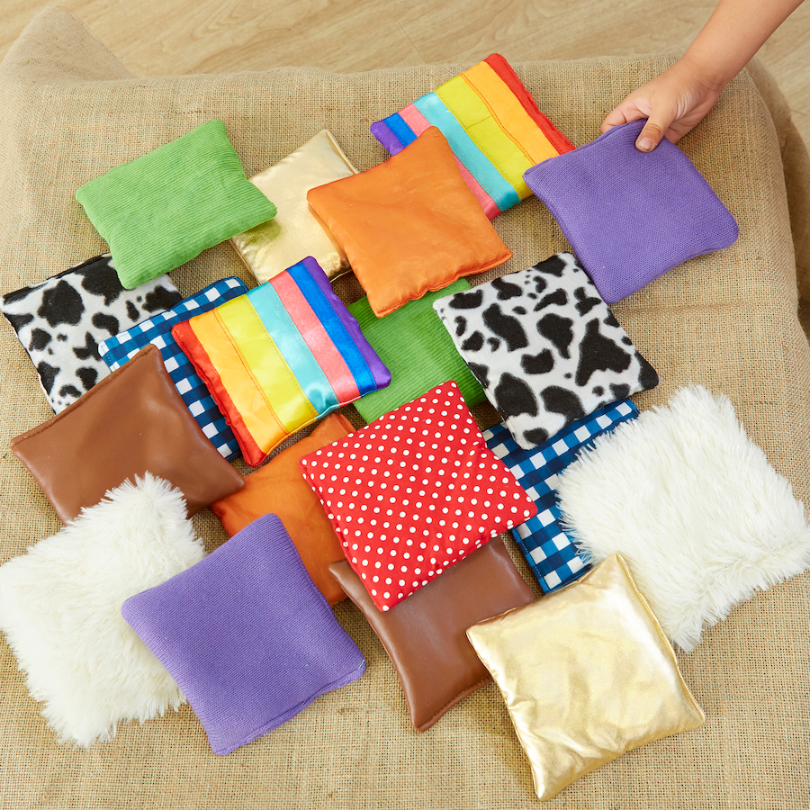 Buy Find The Match Fabric Sensory Squares Tts