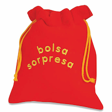 Bolsa Sorpresa Spanish Fabric Feely Bag  medium