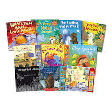 Sensory Sound and Pop Up Book Pack 10pk  medium