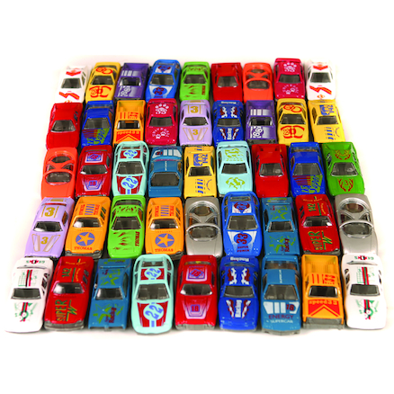 Small World Die Cast Car Set 48pcs  large