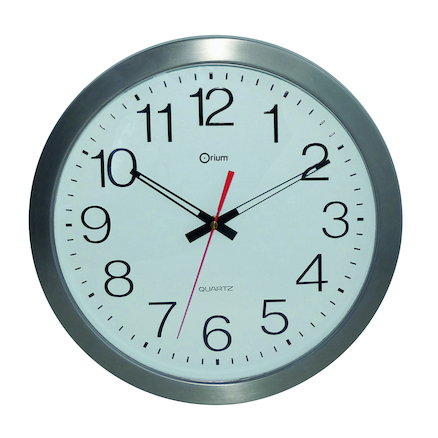 Outdoor Waterproof Stainless Steel Wall Clock  large