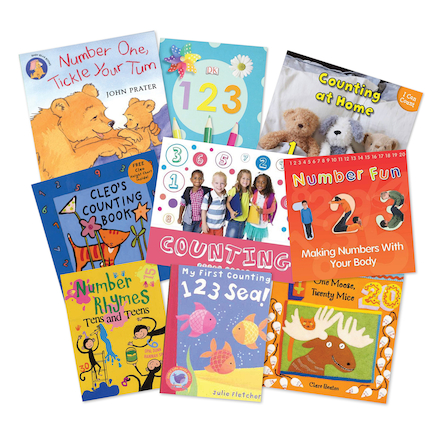 Counting Songs and Rhymes Books 9pk  large