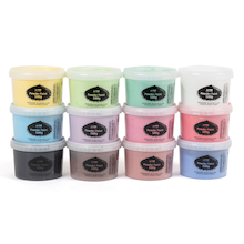 Powder Paint Assorted 500g 12pk  medium