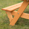 Rectangular Infant Height 6 Seater Picnic Bench  small
