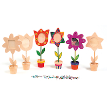Wooden Flower Pot Frames 12pk  medium