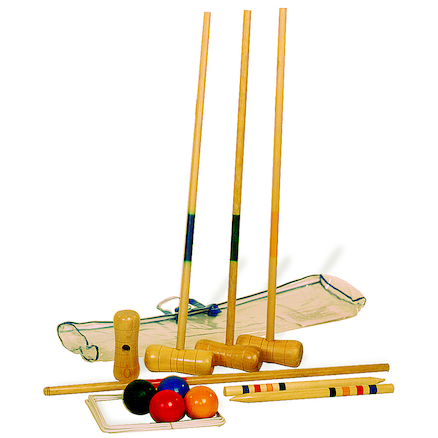 Wooden Croquet Set  large
