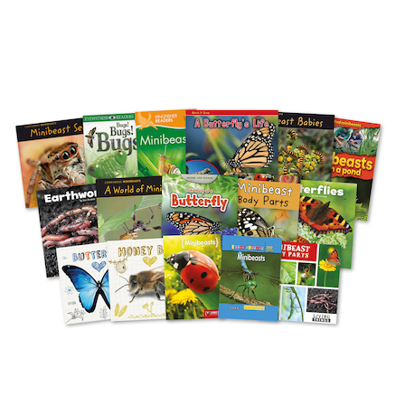 KS1 Discover Minibeasts and Insects Books 15pk  large
