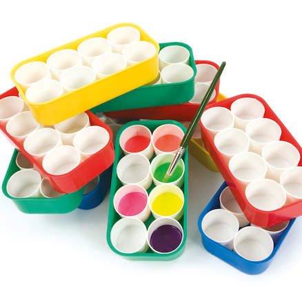 Paint Tray 8 Pot 10pk  large