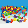 3D Coloured Connecting Camel Figures 96pk  small