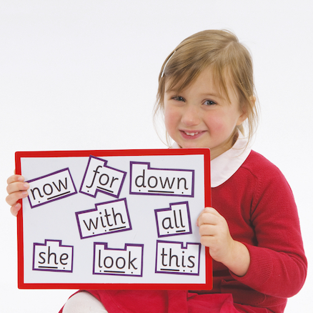 Phonics Magnetic High Frequency Words Phase 3 24pk  large