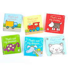 """That's Not My'' Book Set 6pcs  medium"