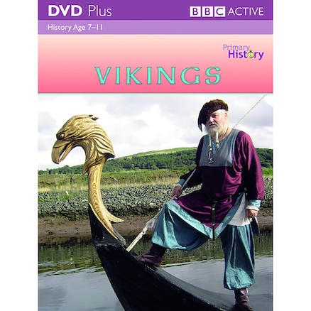 Vikings DVD and Activity Pack  large