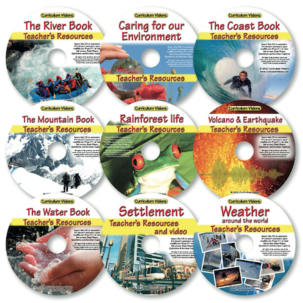 Geography Bumper Topics CD Collection  large
