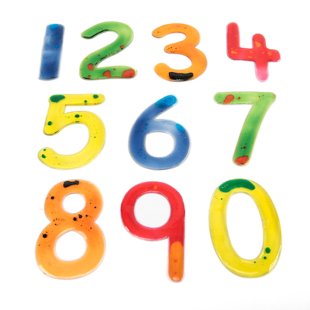 Squidgy Sparkles Numbers Set 0\-9  large