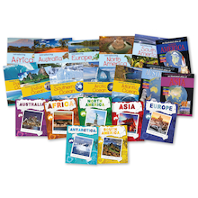 Comparing Continents Books 20pk  medium