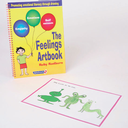 Feelings Activity Artbook and CD Rom  large