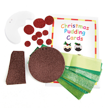 Christmas Pudding Cards 30pk  medium