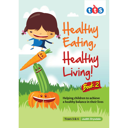 Healthy Eating, Healthy Living Books  large
