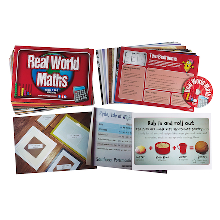 Real World Maths Activity Cards Buy all and Save  large