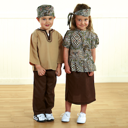 Multicultural Dressing Up Clothes Multibuy  large