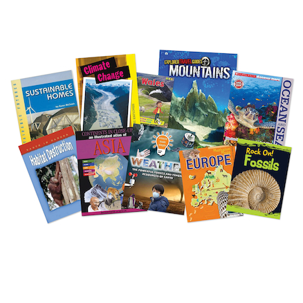 KS2 Geography Book Pack  large