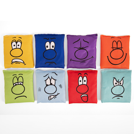 Emotion Faces Bean Bags  large