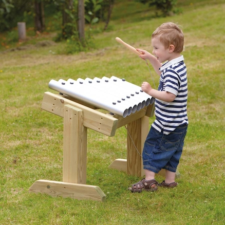 Outdoor Chimes Table  large