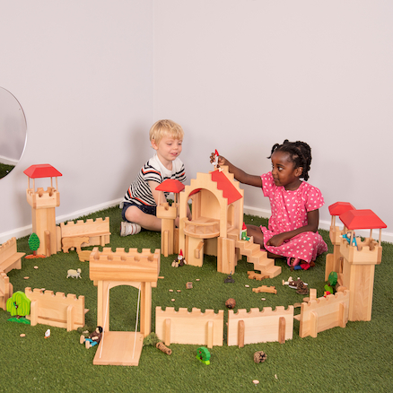 Small World Wooden Castle Set  large