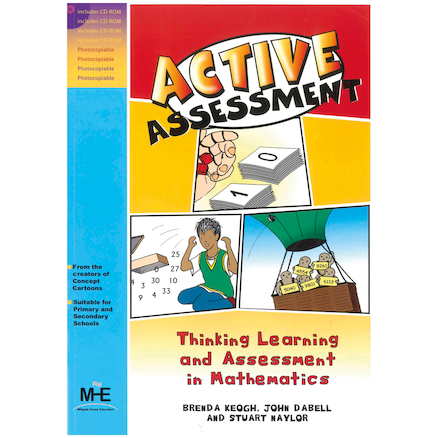 Maths Active Assessment Book and CD Pack  large