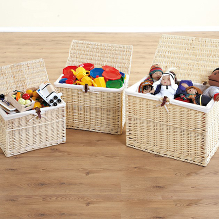 Wicker Storage Hamper Baskets  large