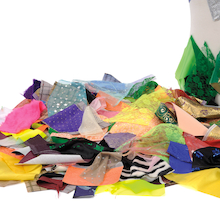 Fabric Offcuts Assorted 1kg  medium