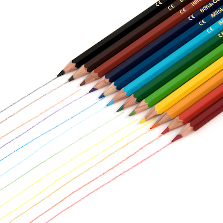 Berol Colourcraft Colouring Pencils Assorted  large