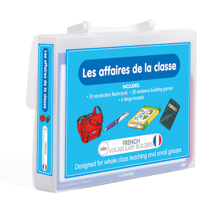 French Vocabulary Builders \- Classroom Objects  large
