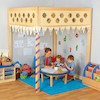 Lovely Learning Location Pillared Wooden Structure  small