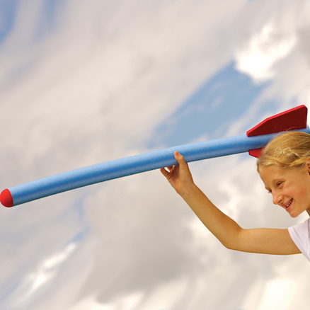Indoor Athletics Foam Javelin  large