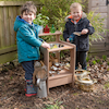 Wooden Mini Mud Kitchen  small