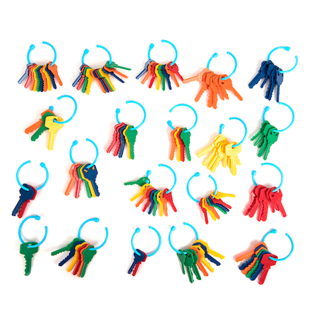 Plastic Key Counters and Key Ring Counting Set  large