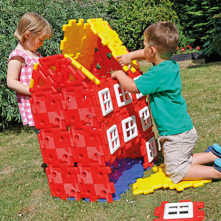 Giant Polydron House Set  large
